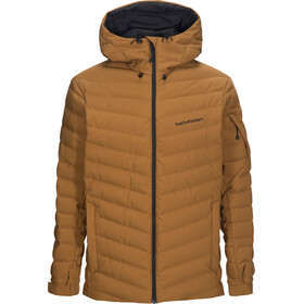 Peak Performance Frost Ski Jas Heren, honey brown